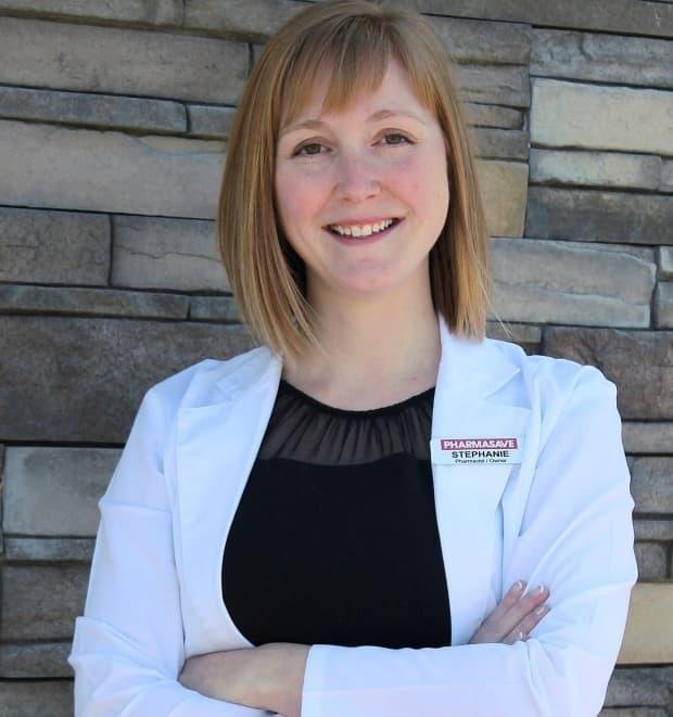 Stephanie Burden was named 2021 Canadian Pharmacist of the Year, for her dedication to community involvement.   (Submitted by Stephanie Burden - image credit)