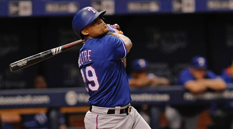 Rangers Adrian Beltre ejected in freaky fashion for moving on-deck circle