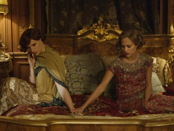 Eddie Redmayne plays transgender artist Lili Elbe, starring alongside Alicia Vikander in 'The Danish Girl' (Agatha A Nitecka)