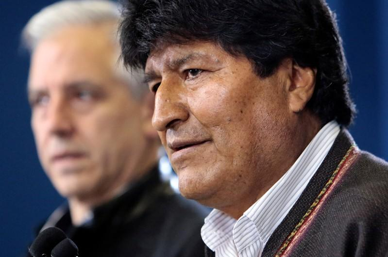 Bolivian President Morales calls for new elections after OAS audit