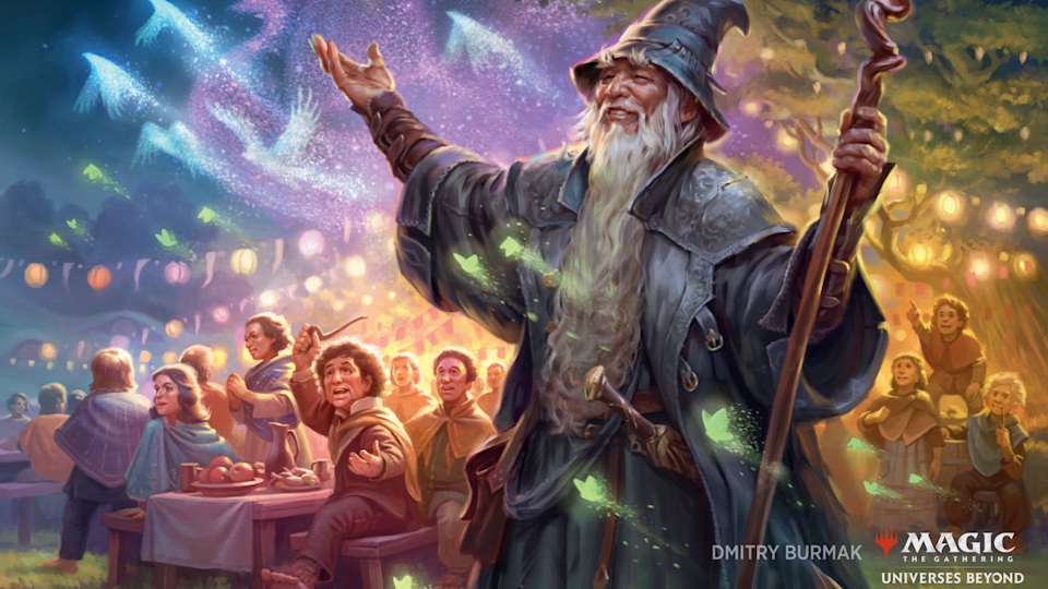 """""""And then, Frodo traded my Black Lotus for the One Ring. Foolish hobbit."""" (Image: Wizards of the Coast)"""