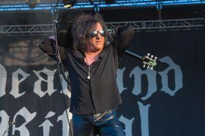 Steve Stevens of Deadland Ritual at Louder Than Life