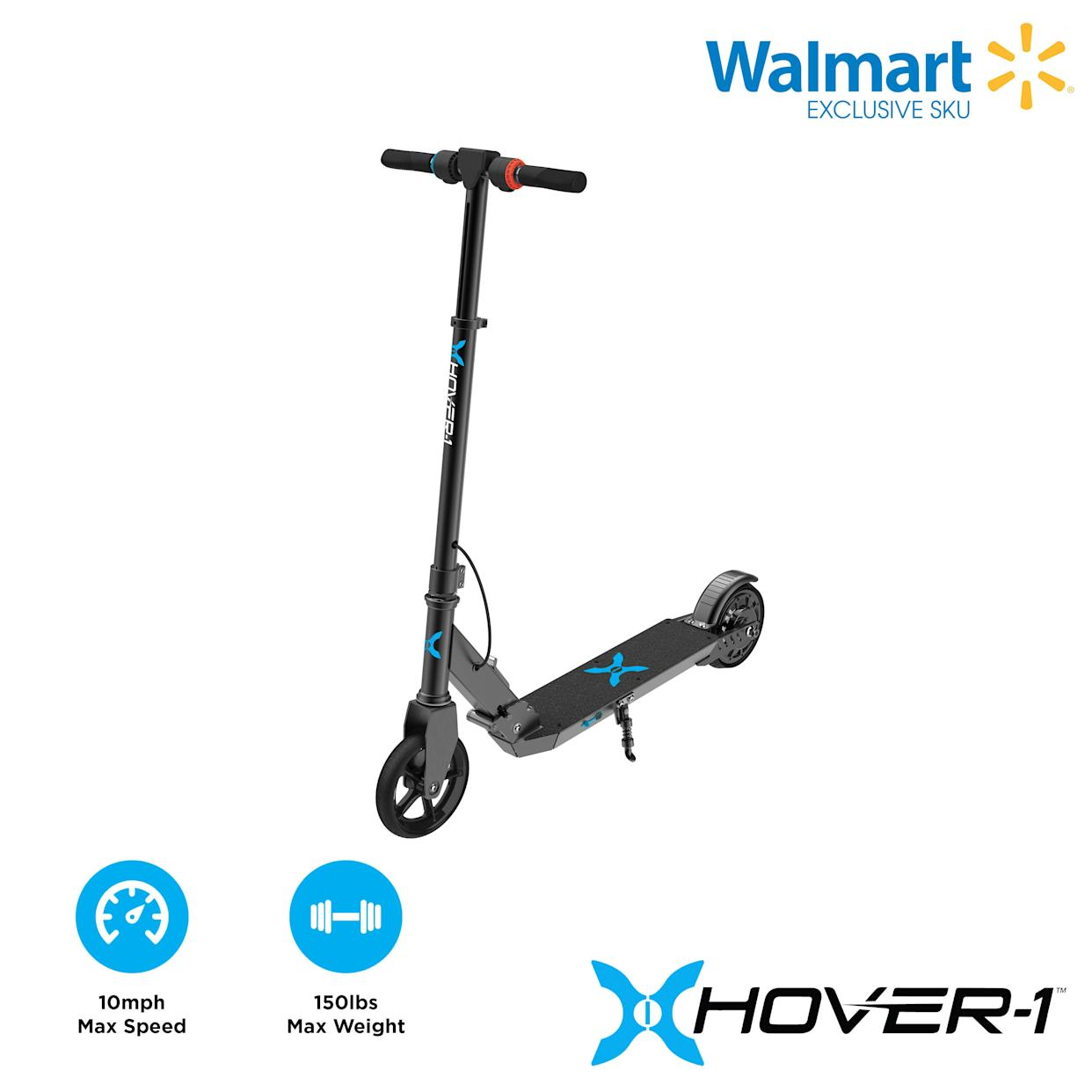"This electric scooter goes 10 mph. <strong><a href=""https://fave.co/2PFsgv1"" rel=""nofollow noopener"" target=""_blank"" data-ylk=""slk:Find it for $148 at Walmart"" class=""link rapid-noclick-resp"">Find it for $148 at Walmart</a>.</strong>"