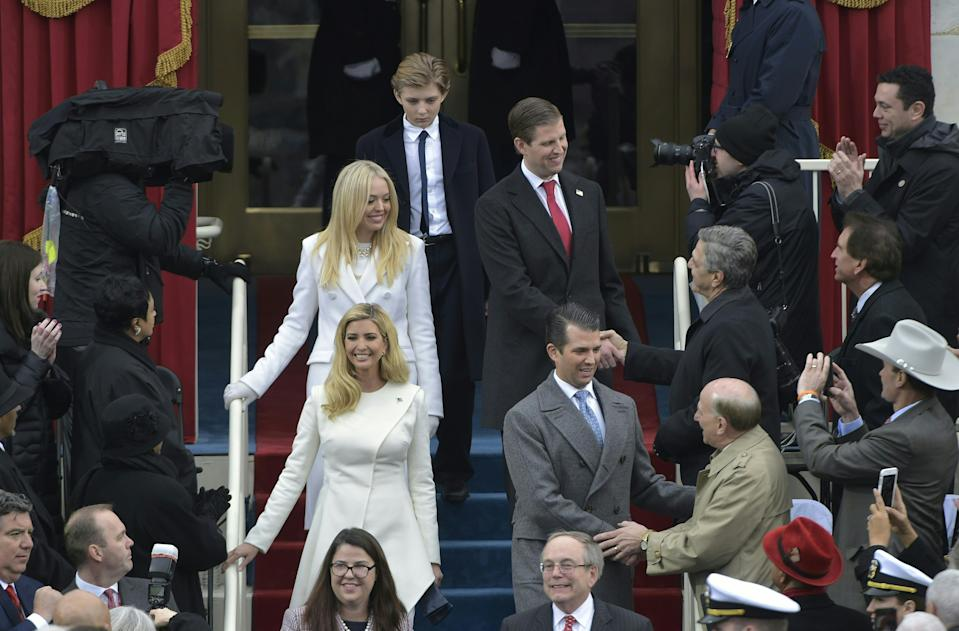 The Trump family siblings are unlikely to disappear from the limelight for too long following their father's defeat in the 2020 election. Photo: Getty Images