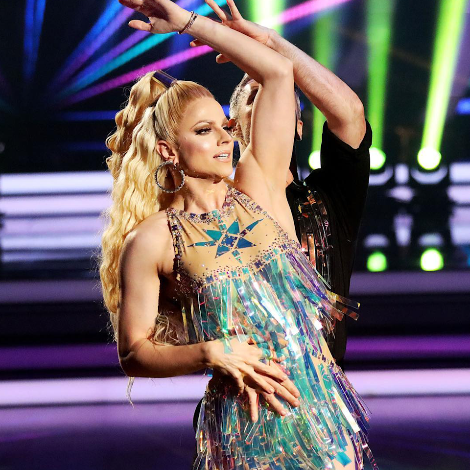 Courtney Act on Dancing With The Stars.