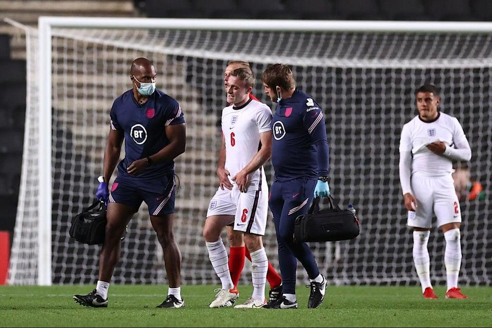 Skipp was forced off with a groin injury in England Under-21's 2-0 win over Kosovo (The FA via Getty Images)
