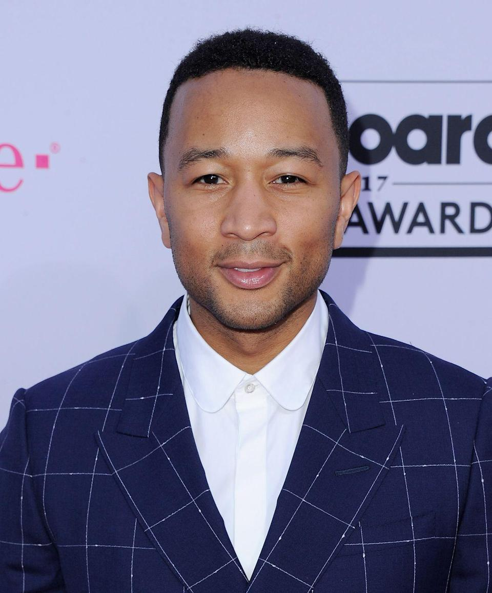 """<p><strong>Real name: </strong>John Roger Stephens</p><p>""""John Legend is a nickname that some friends started calling me, and it kind of grew into my stage name,"""" Legend explained to <a href=""""http://www.mtv.com/news/1593317/john-legend-reflects-on-his-early-days-when-kanye-west-was-opening-for-him/"""" rel=""""nofollow noopener"""" target=""""_blank"""" data-ylk=""""slk:MTV News"""" class=""""link rapid-noclick-resp"""">MTV News</a> in a 2008 interview. """"'Legend' is something that I never would have chosen for myself originally. It grew to the point where more people in my circle would know me by that name than by my real name.""""</p>"""