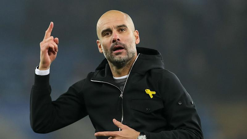 Guardiola claims Glenn didn't understand meaning of yellow ribbon
