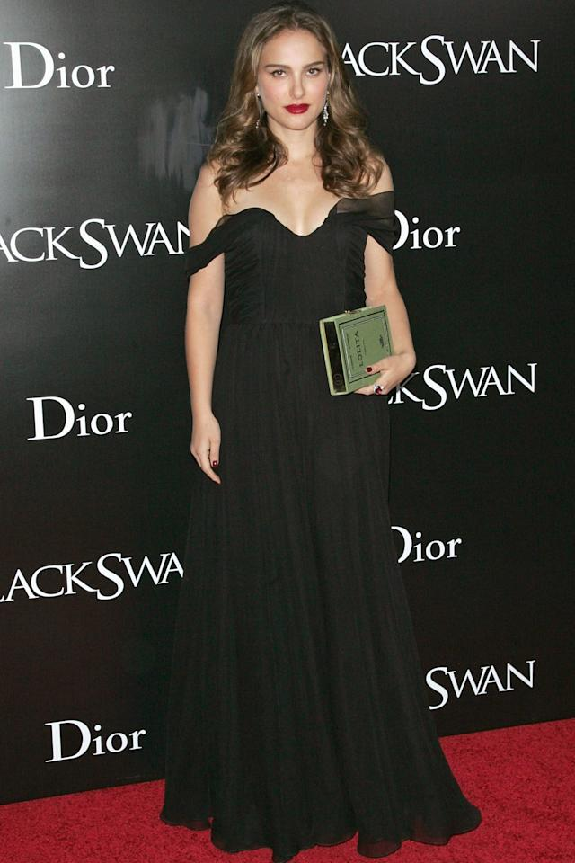 """<p>She's on the ballot this year for 'Jackie,' but we're still recovering from Natalie Portman's last Academy Award-winning role in 'Black Swan.' How'd she score her <a rel=""""nofollow"""" href=""""http://www.drozthegoodlife.com/healthy-lifestyle/a2602/alexandra-ansanelli-prima-ballerina-career/"""">perfect ballerina figure</a> back in 2010? By training with a professional one. Former New York City Ballet dancer Mary Helen Bowers worked with Portman not just on her plie<span>s, but also on her</span> swimming, cross-training, and endurance exercises, according to <a rel=""""nofollow"""" href=""""http://www.shape.com/celebrities/celebrity-workouts/natalie-portmans-black-swan-workout"""">Shape</a><span>.</span> """"We usually started by swimming a mile a day... then we'd do two hours of ballet exercises and resistance work,"""" she said. <span>Fuel is key: </span>""""I consume <a rel=""""nofollow"""" href=""""http://www.drozthegoodlife.com/healthy-food-nutrition/healthy-recipe-ideas/tips/g508/ways-eat-hummus/"""">my own weight in hummus</a> every day,"""" Portman told <a rel=""""nofollow"""" href=""""http://www.vogue.com/article/natalie-portman-january-2011-cover#1"""">Vogue</a> in 2010.<span></span> """"I cook a lot, and I even do vegan baking.""""</p>"""