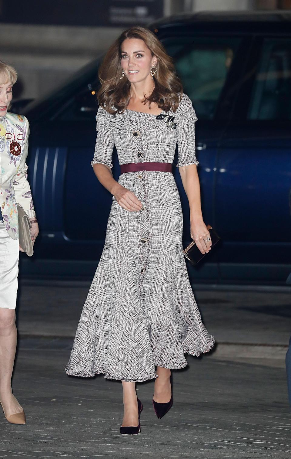 Kate Middleton attends the opening of the V&A Photography Centre at Victoria & Albert Museum. Photo: Getty
