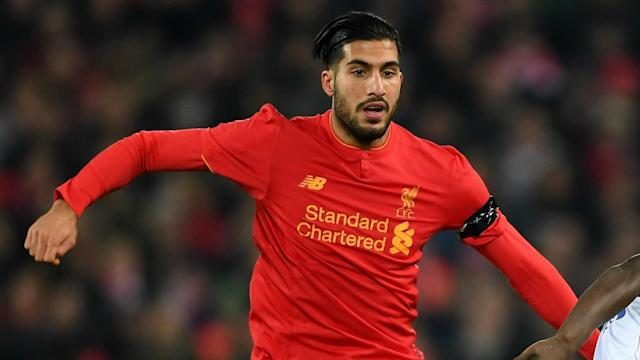 Emre Can is happy at Liverpool and engaged in positive contract discussions with the club, according to manager Jurgen Klopp.