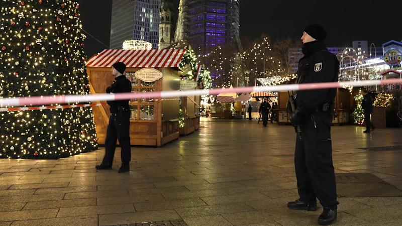 Nine have been killed when a truck ploughed into a crowd at a Christmas market in Berlin.