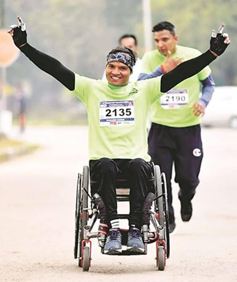 The real champs: Unmindful of their disability, these people have embraced sports