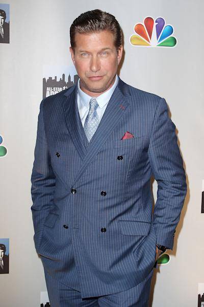 """FILE - This Oct. 12, 2012 file image released by Starpix shows contestant Stephen Baldwin posing at the cast announcement for the new """"All Star Celebrity Apprentice, in New York. Baldwin has been charged with failing to file New York state income taxes for three years. Rockland County District Attorney Thomas Zugibe says Baldwin owes more than $350,000 in taxes and penalties. He says Baldwin was arraigned Thursday, Dec. 6, on a charge of repeated failure to file tax returns. (AP Photo/Starpix, Kristina Bumphrey, file)"""