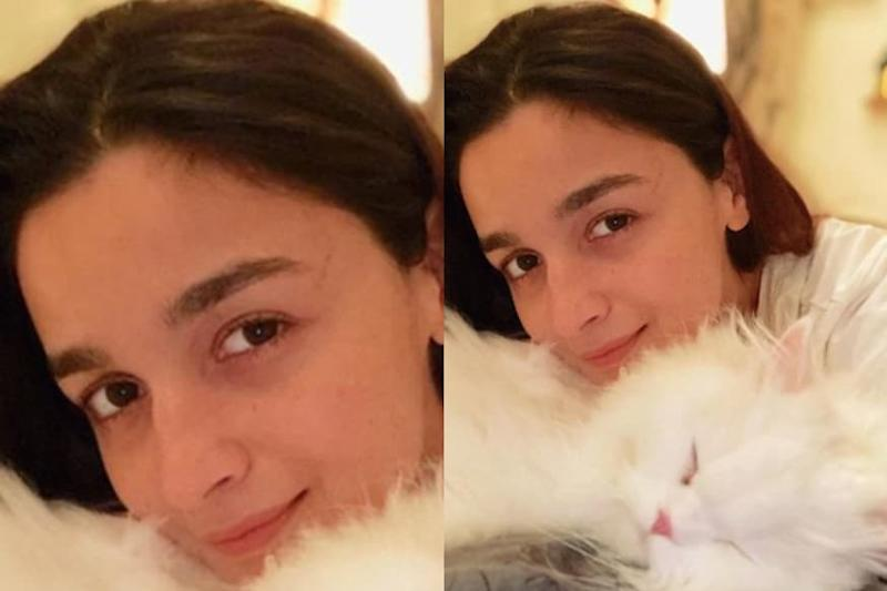 Alia Bhatt Introduces Fans to Her 'Calm in Every Storm', See Pic