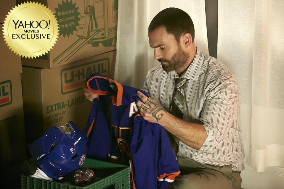 """<p>In a follow-up to 2011's cult hockey comedy, <a rel=""""nofollow"""" href=""""https://www.yahoo.com/movies/tagged/seann-william-scott"""" data-ylk=""""slk:Seann William Scott"""" class=""""link rapid-noclick-resp"""">Seann William Scott</a> reprises his role as Canada's most punchable on-ice enforcer, who has to fend off a new challenger (<a rel=""""nofollow"""" href=""""https://www.yahoo.com/movies/tagged/wyatt-russell"""" data-ylk=""""slk:Wyatt Russell"""" class=""""link rapid-noclick-resp"""">Wyatt Russell</a>) in a clash that will rock you to your Timbits. 