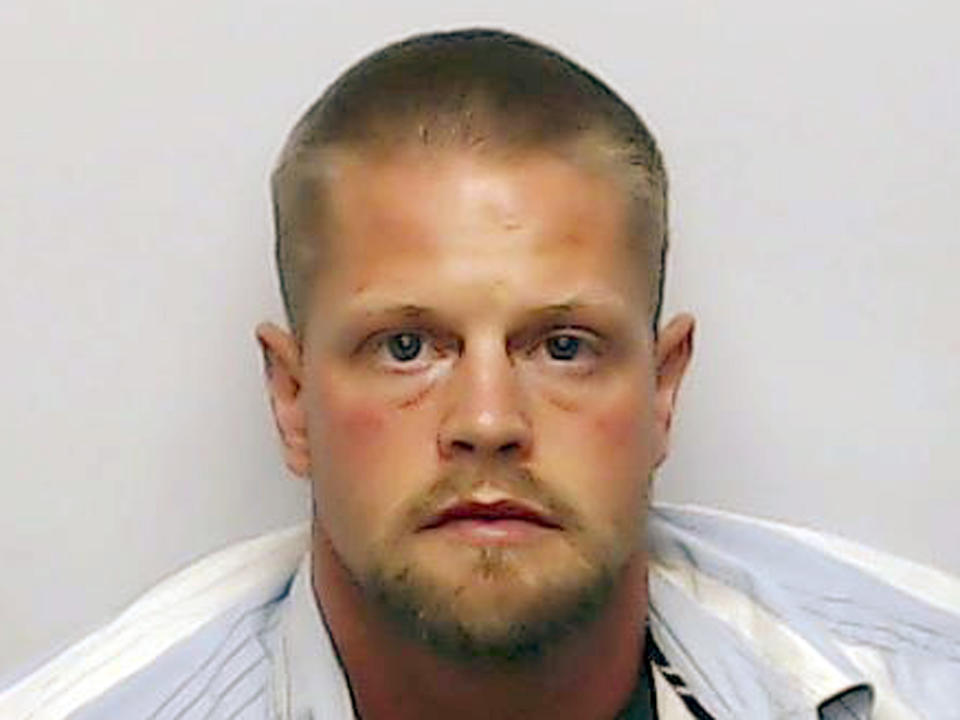This undated booking file photo shows Joseph Oberhansley.