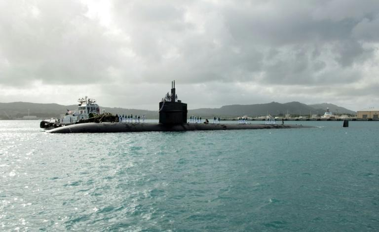 The three-way deal gives Australia US nuclear-powered submarine technology (AFP/Jamica Johnson)