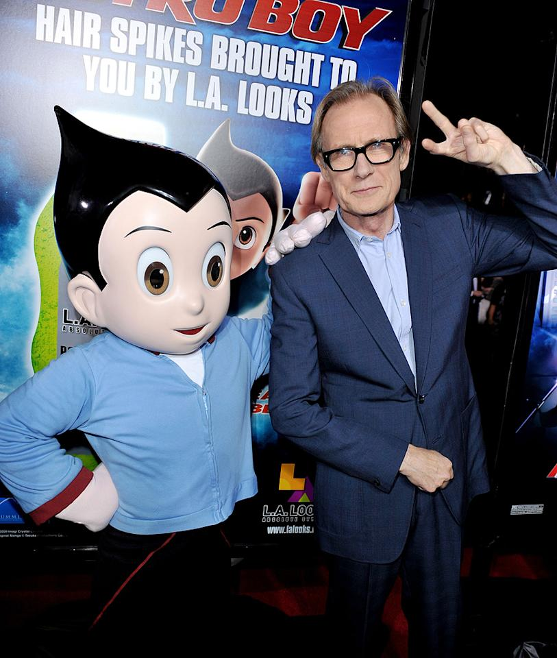 "<a href=""http://movies.yahoo.com/movie/contributor/1800019394"">Bill Nighy</a> at the Los Angeles premiere of <a href=""http://movies.yahoo.com/movie/1808461950/info"">Astro Boy</a> - 2009"