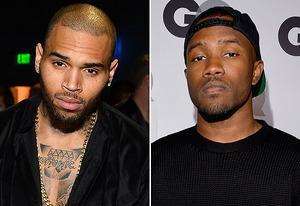 Chris Brown, Frank Ocean | Photo Credits: Frazer Harrison/Getty Images;  Lester Cohen/Getty Images
