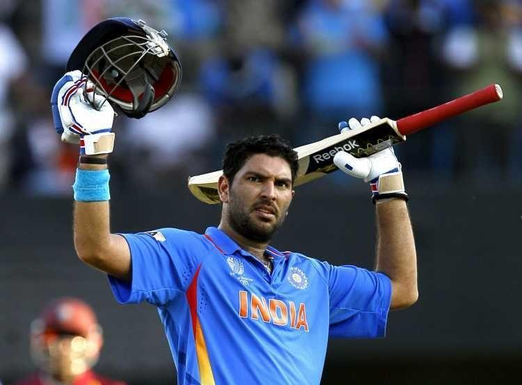 Yuvraj Singh dazzled in India's victorious 2011 World Cup campaign with both bat and ball