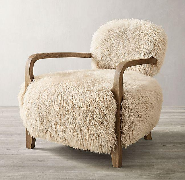 "<p>""The Restoration Hardware Ski House line is marketed at jetsetters, but you don't have to be wintering in Cortina or Sun Valley to be charmed by this shaggy Yeti sheepskin armchair, which befits any quiet reading nook. The question is, what to read? Start with The Big She-Bang, by New York Times best-selling novelist and T&C contributor <a href=""https://www.amazon.com/Big-She-Bang-Herstory-Universe-According/dp/006290566X"" rel=""nofollow noopener"" target=""_blank"" data-ylk=""slk:Marisa Acocella"" class=""link rapid-noclick-resp"">Marisa Acocella</a>.""—<em>Erik Maza, Style Features Director</em></p><p>$2695 - $3095 </p><p><a class=""link rapid-noclick-resp"" href=""https://rh.com/catalog/product/product.jsp?productId=prod19100011&sale=false"" rel=""nofollow noopener"" target=""_blank"" data-ylk=""slk:Shop Now"">Shop Now</a></p>"