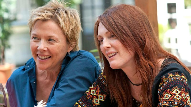 Annette Bening and Julianne Moore in 'The Kids Are All Right'. (Credit: Focus Features)
