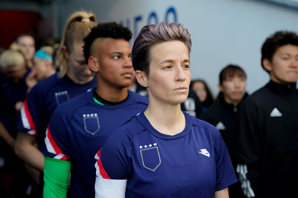 Megan Rapinoe's new autobiography is telling on a lot of fronts, including the fact it isn't the typical rise-of-an-athlete story. (Photo by Brad Smith/ISI Photos/Getty Images)