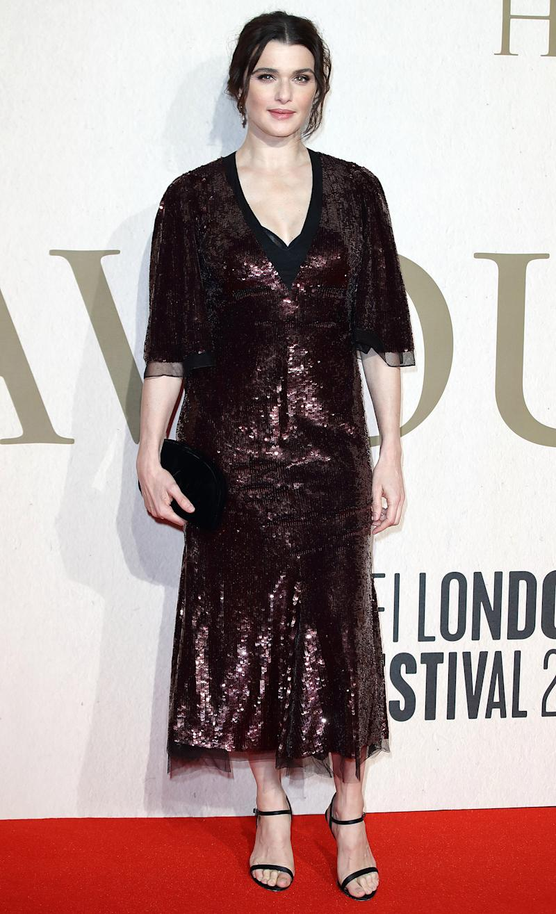 Rachel Weisz Makes First Post Baby Red Carpet Appearance A Month