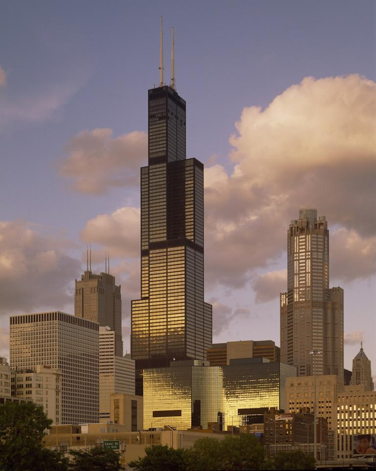 Completed in 1973, the Willis Tower has long been the most iconic piece of Chicago's storied skyline. Formerly dubbed the Sears Tower, the black lacquered structure has one of the tallest observation decks in the Western Hemisphere.