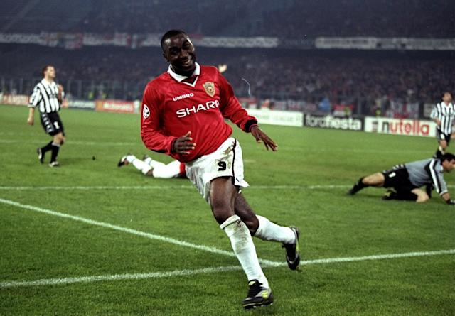 <p>Juventus 2 Manchester 3: Juve led 2-0 in the 1999 Champions League semi-final second leg after a 1-1 draw at Old Trafford. Cue the great fightback that eventually saw Roy Keane and Paul Scholes ruled out of the final. Here, Andy Cole celebrates scoring Manchester United's third goal in Turin. </p>