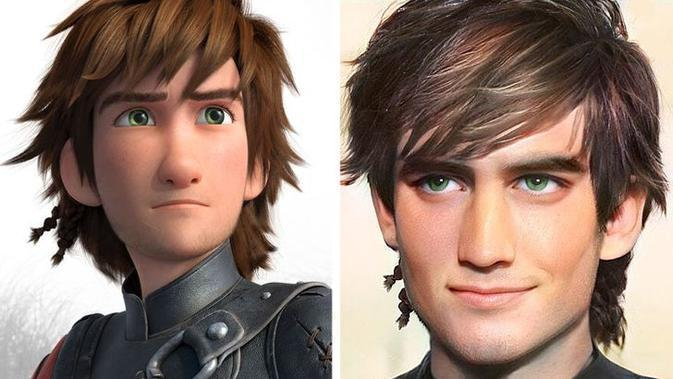 Karakter Hiccup. (How to Train Your Dragon/DreamWorks Animation, Instagram/@darky.artist)