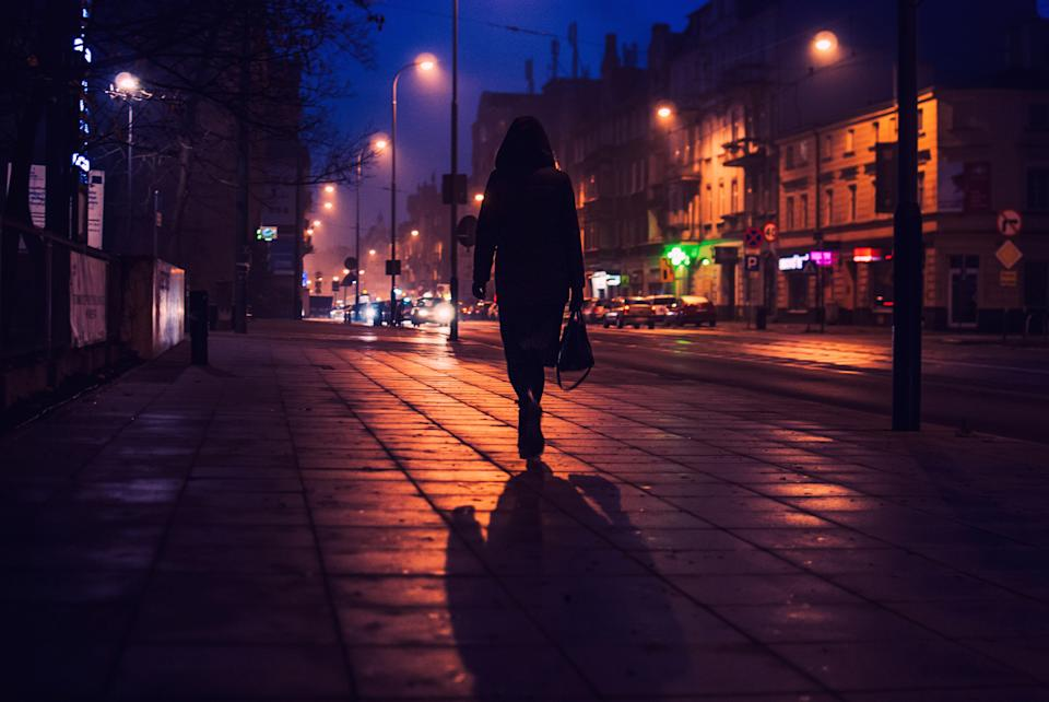 Women have been sharing stories about feeling afraid while walking home alone. (Getty Images)