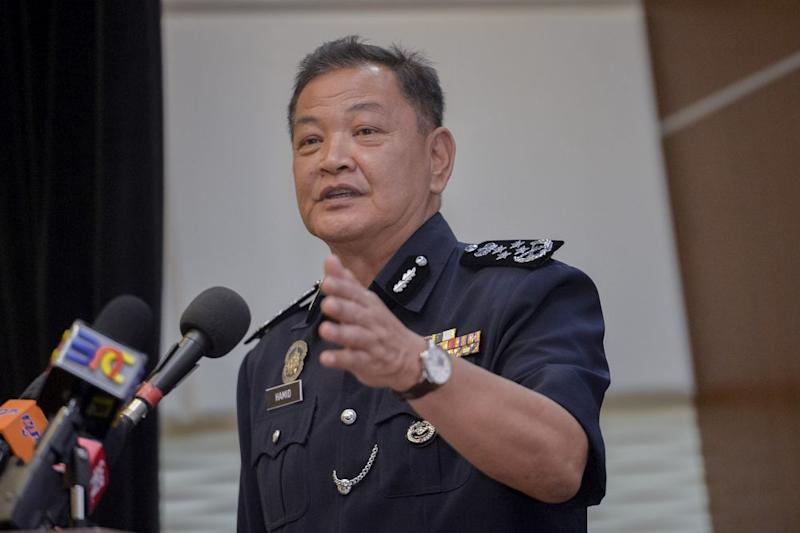 IGP Datuk Seri Abdul Hamid Bador says he can guarantee the safety of Jho Low and his family if fugitive businessman returns to the country. — Picture by Mukhriz Hazim