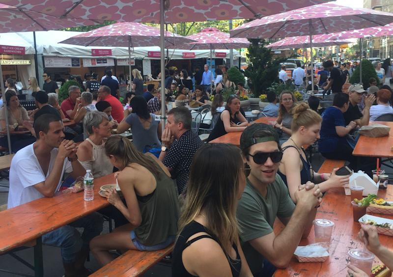 Mad Sq. Eats 2017 Pops Up in New York for the Summer