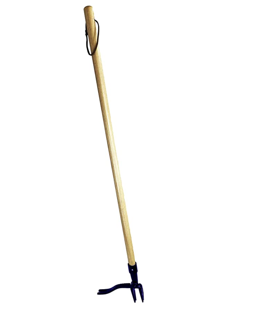 A stand up weeding tool