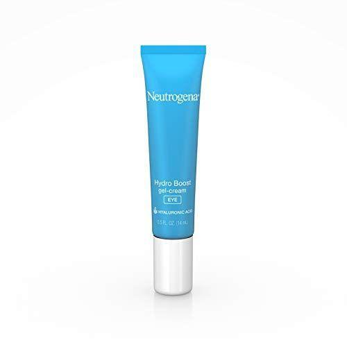 """<p><strong>Neutrogena </strong></p><p>amazon.com</p><p><strong>$12.68</strong></p><p><a href=""""https://www.amazon.com/dp/B00NR1YIKM?tag=syn-yahoo-20&ascsubtag=%5Bartid%7C10055.g.26858923%5Bsrc%7Cyahoo-us"""" rel=""""nofollow noopener"""" target=""""_blank"""" data-ylk=""""slk:Shop Now"""" class=""""link rapid-noclick-resp"""">Shop Now</a></p><p>This GH Beauty Lab bargain favorite from Neutrogena is perfect if you're looking for a <strong>lighter formula without compromising hydration</strong>. The unique gel-like texture absorbs quickly into skin and keeps the delicate eye area moisturized for up to 12 hours. Plus, it's oil- and fragrance-free, making it great for nearly every skin type, from oily to sensitive.</p>"""