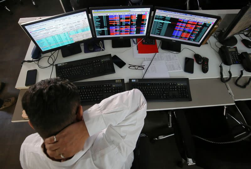 Nifty, Sensex higher as gains in financials limit energy losses