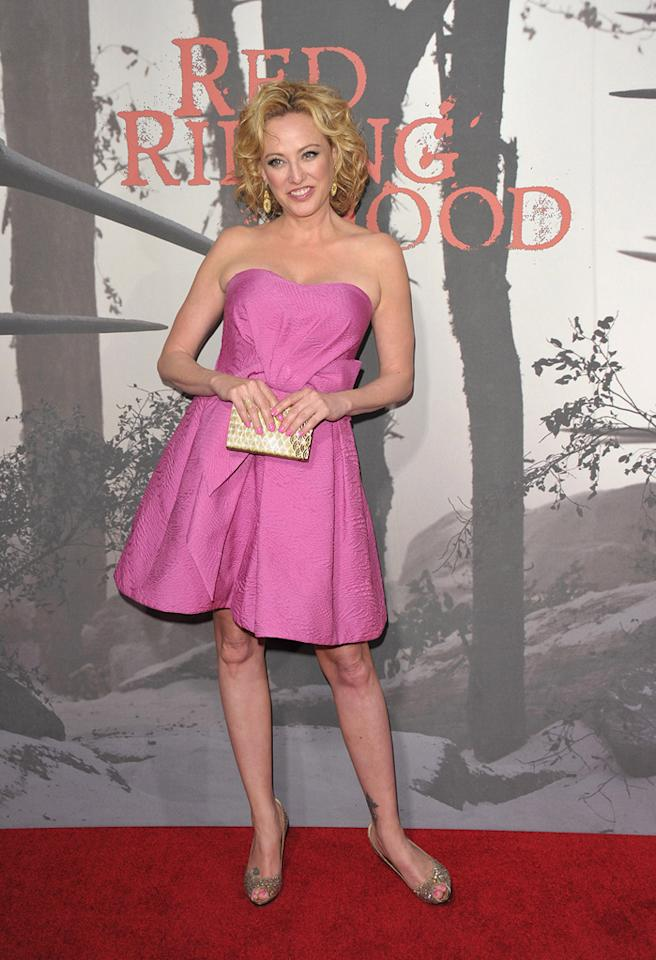 "<a href=""http://movies.yahoo.com/movie/contributor/1800011462"">Virginia Madsen</a> at the Los Angeles premiere of <a href=""http://movies.yahoo.com/movie/1810157569/info"">Red Riding Hood</a> on March 7, 2011."