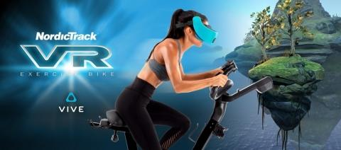 Fitness and Fantasy Collide in NordicTrack's New Virtual Reality Bike with HTC VIVE Focus™