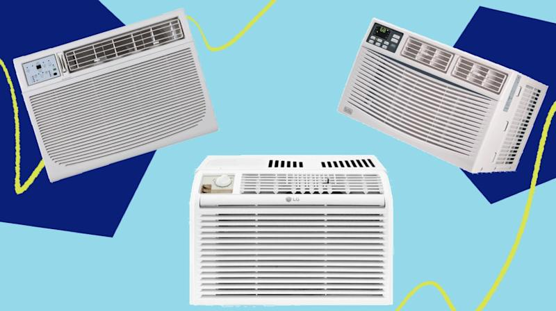 These on-sale air conditioners will get you through the sunny days to come. (Photo: HuffPost)