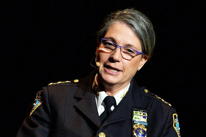 """<div class=""""inline-image__caption""""><p>NYPD Chief Joanne Jaffe</p></div> <div class=""""inline-image__credit"""">Slaven Vlasic/Getty</div>"""