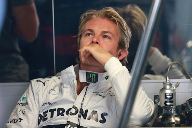 Mercedes' Nico Rosberg during practice day for the 2013 Italian Grand Prix at the Autodromo di Monza in Monza, Italy.