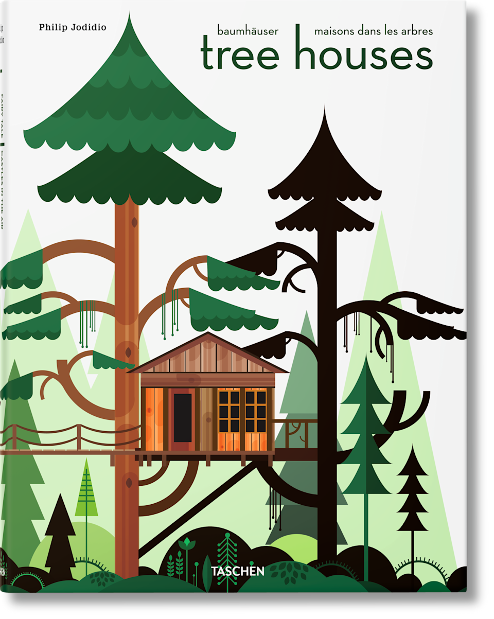 "You better believe someone on your list has thought about moving to the forest to live in a treehouse during this pandemic, but Taschen's picturesque book on real-life treehouses from all over the world can serve as an escapist salve. $40, Amazon. <a href=""https://www.amazon.com/Tree-Houses-Fairy-Tale-Castles/dp/3836526646"" rel=""nofollow noopener"" target=""_blank"" data-ylk=""slk:Get it now!"" class=""link rapid-noclick-resp"">Get it now!</a>"