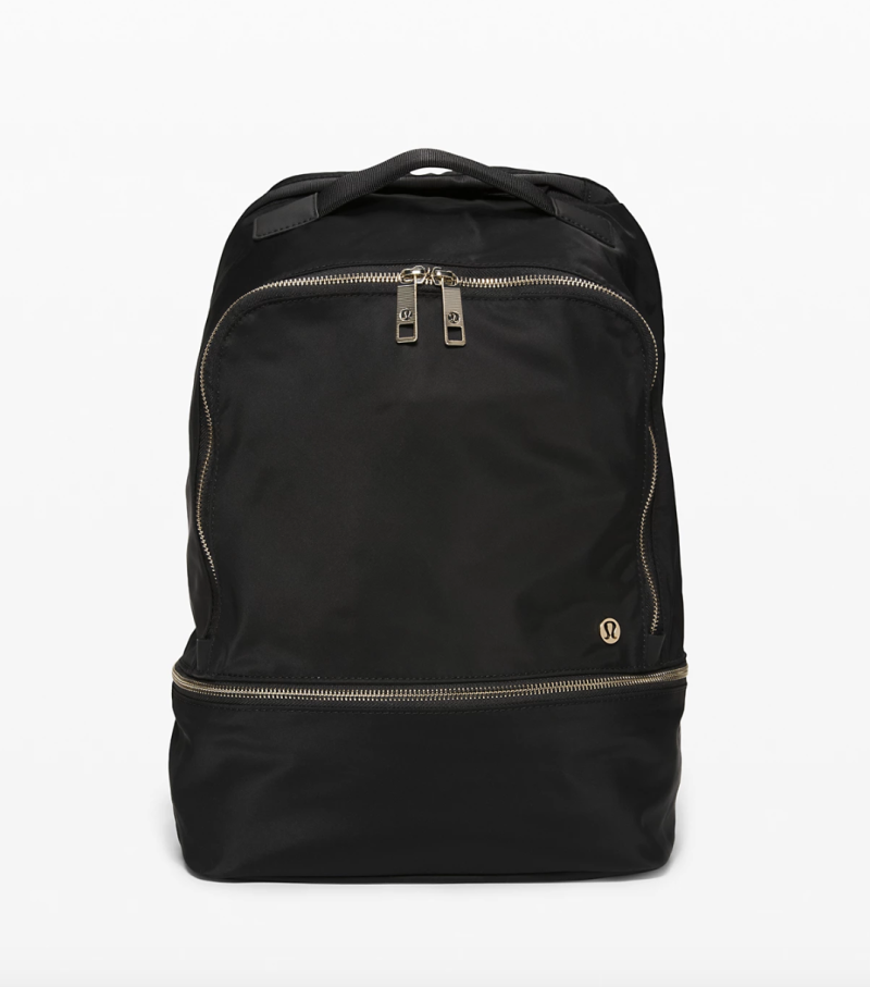 City Adventurer Backpack in black gold