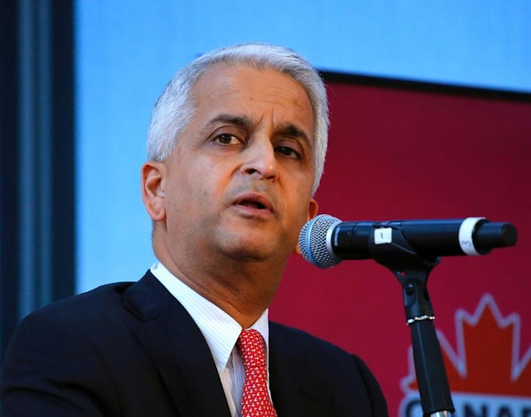 Sunil Gulati, President of US Soccer Federation, speaks at a press conference in New York, in April 2017