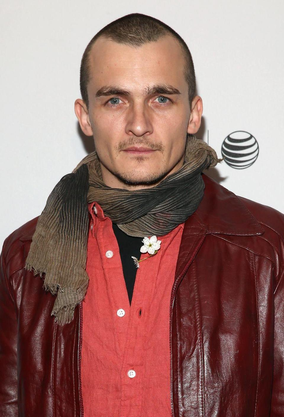 <p>Rupert Friend looked striking different when he buzzed off his long strands for his role in <em>Hitman: Agent 47</em>. The hairstyle was essential to his character in the action thriller (a reboot of 2007's <em>Hitman</em>) so Friend decided to try the bold look for real. </p>