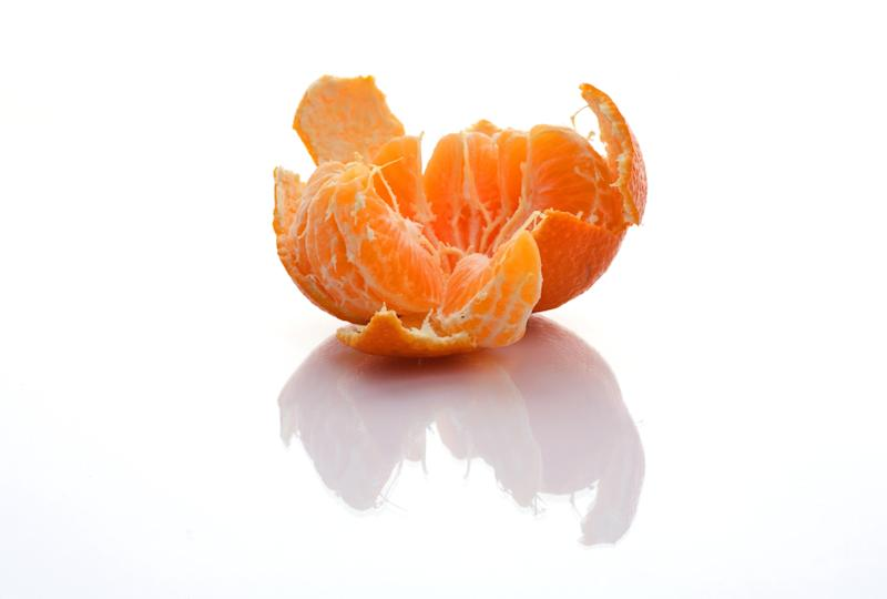 "Peel an orange. Studies show <a href=""http://www.prevention.com/mind-body/emotional-health/scent-citrus-shown-reduce-stress#ixzz2NeCzO1Uz"" target=""_blank"">the smell of citrus</a> can help reduce stress."