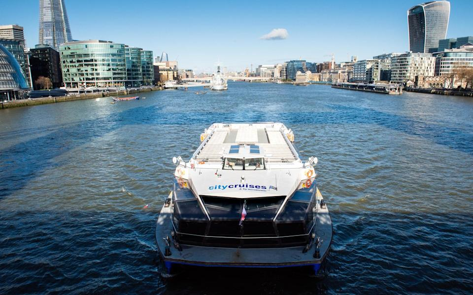 Tickets for London cruises are usually priced from £11 per person - City Cruises