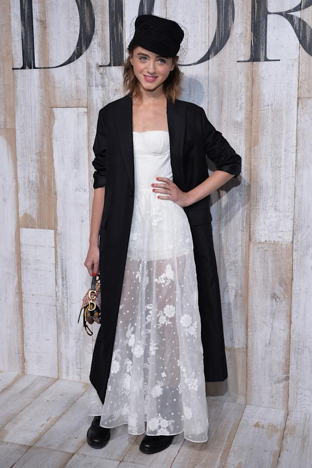<p>Natalia Dyer attended the preview of Christian Dior's Resort collection in erm, head-to-toe Dior obv. <em>[Photo: Getty] </em> </p>